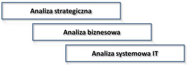 Rys 1. Potencjalny zakres obowiązków analityka biznesowego